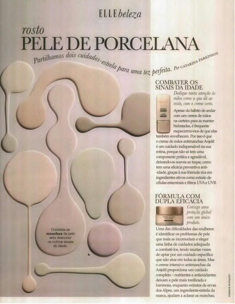 Clipping Anjelif, Setembro de 2016, artigo da revista Elle