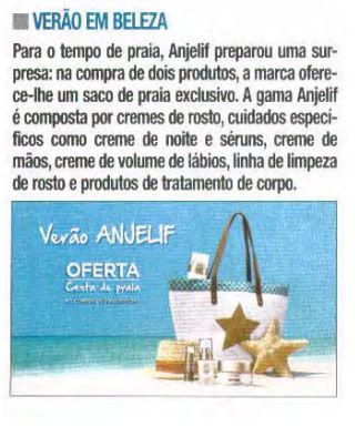 Clipping Anjelif Agosto 2016, Revista Nova Gente