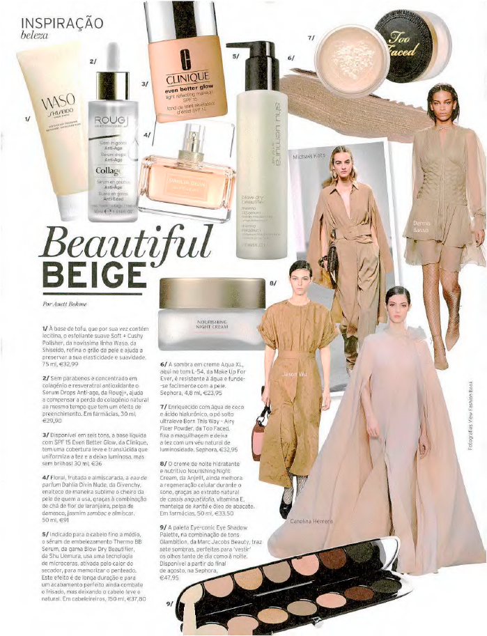 Beautiful Beige - Lux Woman